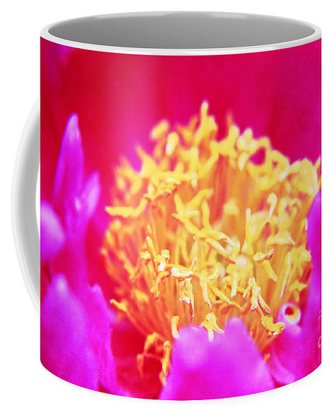 Flower Coffee Mug featuring the photograph Peony by Lali Kacharava