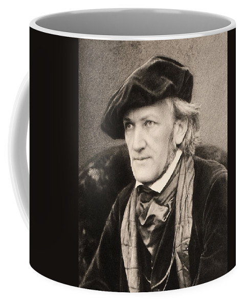 1868 Coffee Mug featuring the photograph Richard Wagner (1813-1883) by Granger
