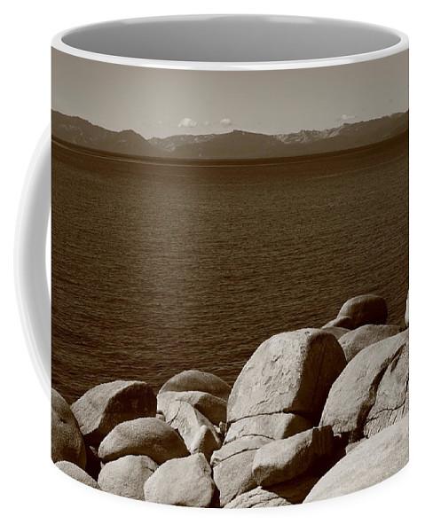 America Coffee Mug featuring the photograph Lake Tahoe by Frank Romeo