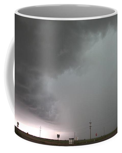 Stormscape Coffee Mug featuring the photograph Nebraska Panhandle Supercells by NebraskaSC
