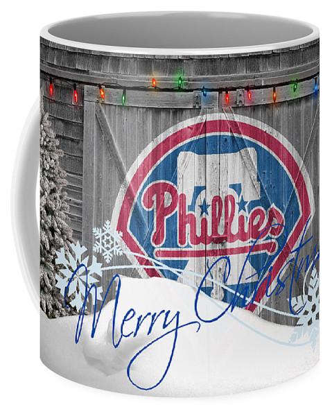 Phillies Coffee Mug featuring the photograph Philadelphia Phillies by Joe Hamilton