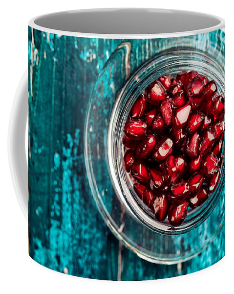 Pomegranate Coffee Mug featuring the photograph Pomegranate by Nailia Schwarz