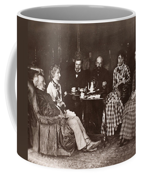 19th Century Coffee Mug featuring the photograph Richard Wagner (1813-1883) by Granger