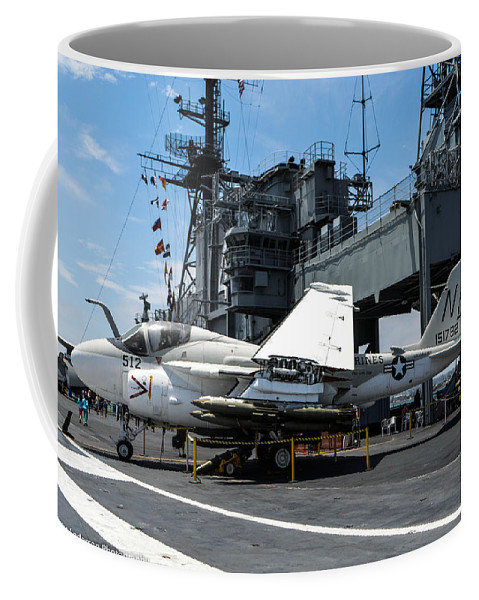 California Coffee Mug featuring the photograph A-6 Intruder by Tommy Anderson