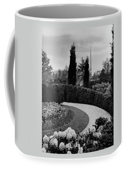 Garden Coffee Mug featuring the photograph A Bobbink & Atkins Garden by Ben Schnall