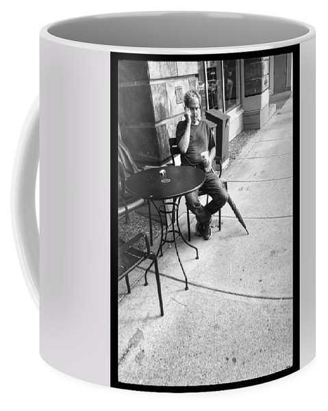 Street Coffee Mug featuring the photograph A Call After Rain by The Artist Project