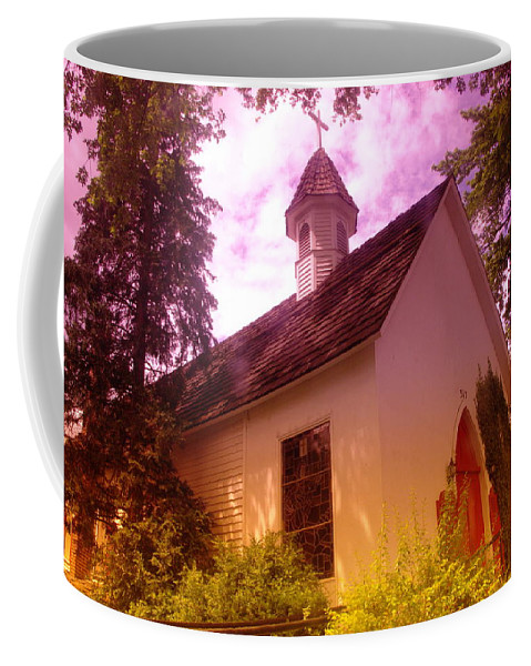Churches Coffee Mug featuring the photograph A Church In Prosser Wa by Jeff Swan