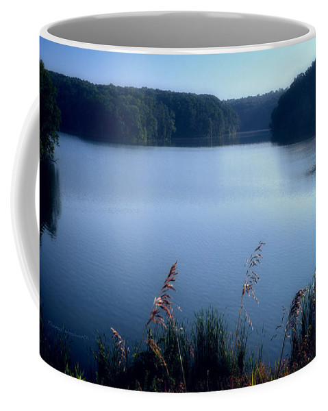 Cobalt Coffee Mug featuring the photograph A Cobalt Morning by Thomas Woolworth