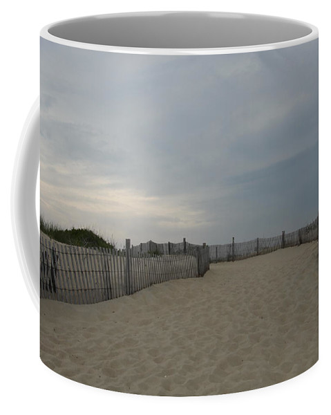 Beach Coffee Mug featuring the photograph A Delaware Beach by Christiane Schulze Art And Photography