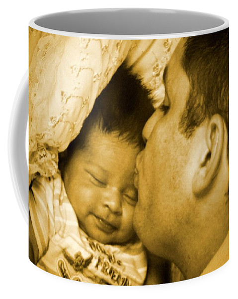 Father Coffee Mug featuring the photograph A Father's Love by Maria Urso