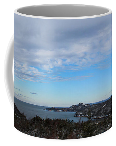 Barbara Griffin Coffee Mug featuring the photograph A Fine January Day On The Bay by Barbara Griffin