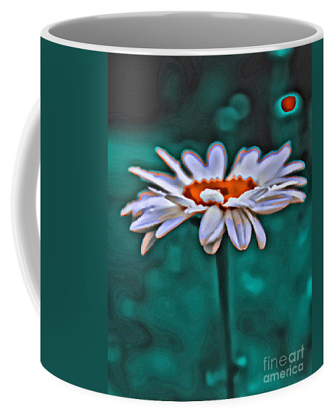 Daisy Coffee Mug featuring the photograph A Flower For You by Scott Hervieux
