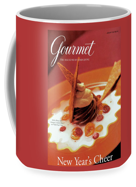 Food Coffee Mug featuring the photograph A Gourmet Cover Of Moch Mousse by Romulo Yanes