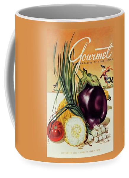 A Gourmet Cover Of Vegetables Coffee Mug