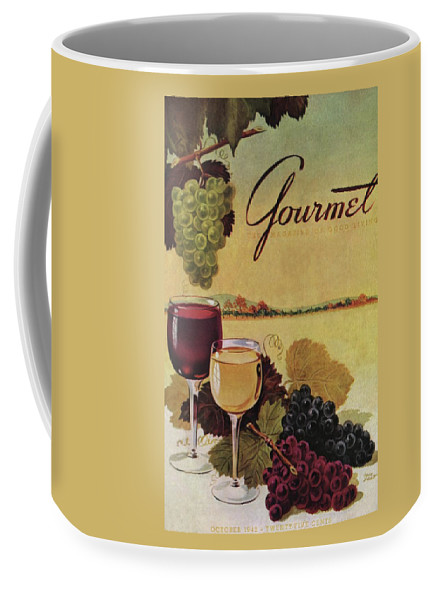 Exterior Coffee Mug featuring the photograph A Gourmet Cover Of Wine by Henry Stahlhut