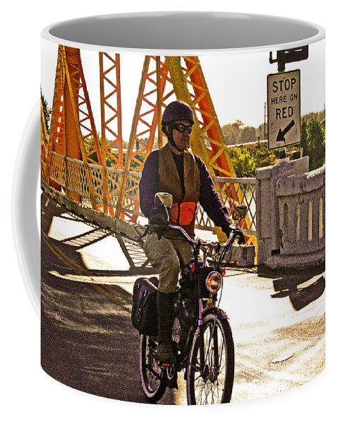 Whizzer Coffee Mug featuring the photograph A Gr8 Whizzer Delta Day by Joseph Coulombe