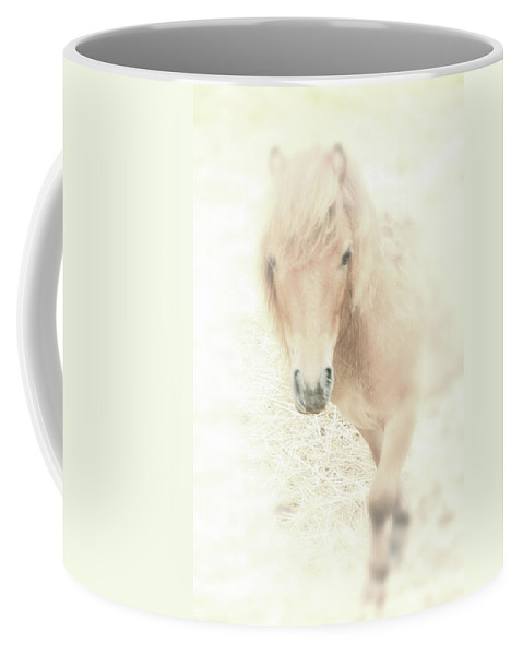 Horse Coffee Mug featuring the photograph A Horse's Spirit by Karol Livote