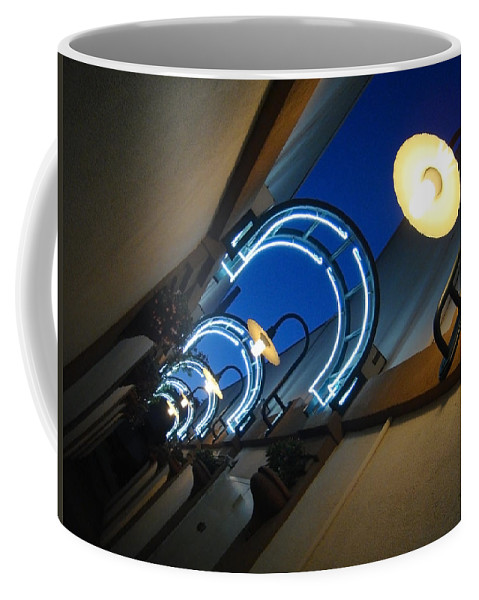 City Coffee Mug featuring the photograph A Light To My Path by Donna Blackhall
