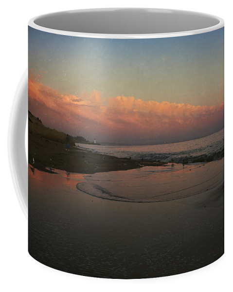 Santa Cruz Coffee Mug featuring the photograph A Little Bit Of Peace by Laurie Search