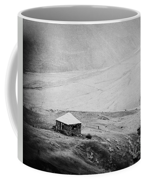 House Coffee Mug featuring the photograph A Lone House by Emily Kay