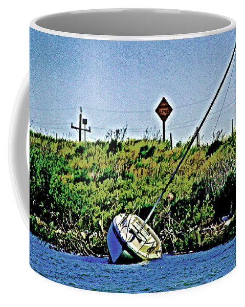 Sacramento River Delta Coffee Mug featuring the photograph A Lost Dream by Joseph Coulombe