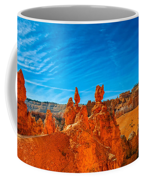 Landscape Coffee Mug featuring the photograph A Martian Earth by John M Bailey