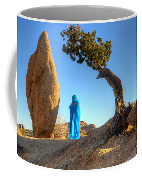Joshua Tree Coffee Mug featuring the photograph A Matter Of Time 1 by Bob Christopher