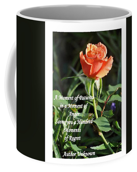 Flower Coffee Mug featuring the photograph A Moment Of Patience by Jay Milo