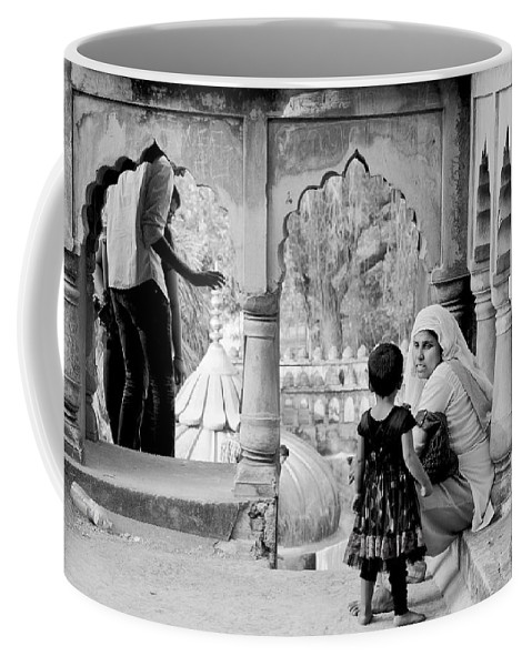 People Coffee Mug featuring the photograph A Mother's Moment by Valerie Rosen