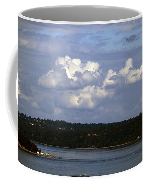 Nature Coffee Mug featuring the photograph A Nice Day To Be In Washington by Edward Hawkins II