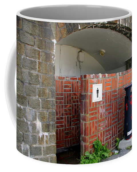 Pit Stop Coffee Mug featuring the photograph A Pit Stop In Bergen by Laurel Talabere