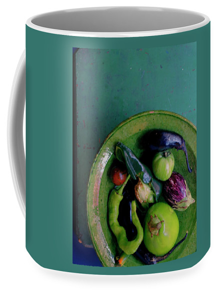 A Plate Of Vegetables Coffee Mug