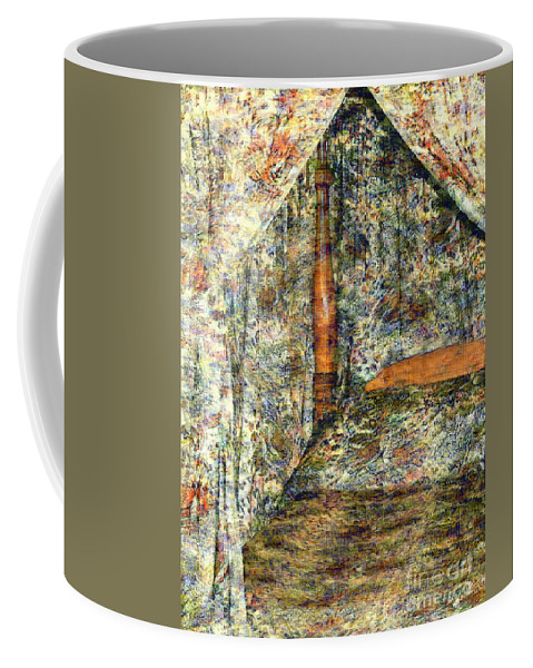 Antiques Coffee Mug featuring the painting A Profusion Of Chintz by RC DeWinter
