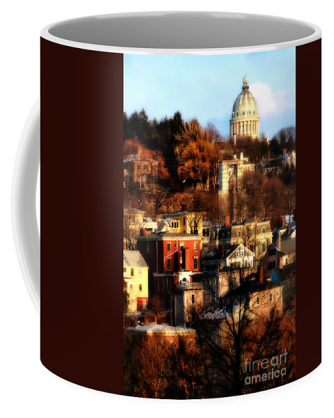 Providence Coffee Mug featuring the photograph A Providence Hillside by Mike Nellums