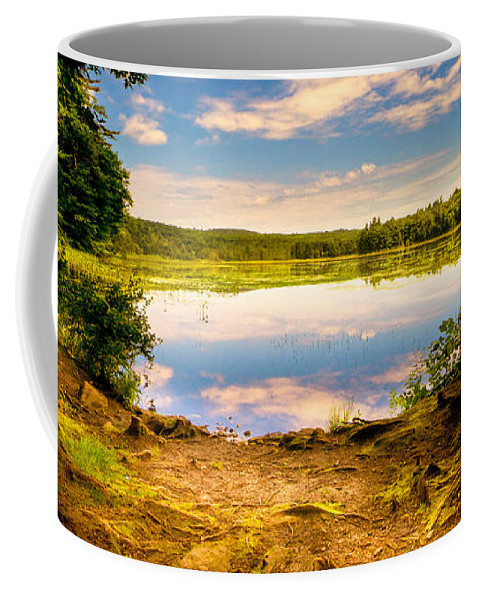 Landscape Coffee Mug featuring the photograph A Secret Place by Bob Orsillo