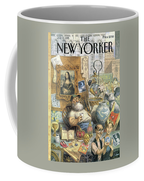 A Shopkeeper Sells Odd Items Coffee Mug