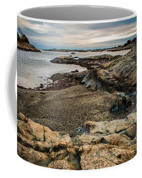 View Coffee Mug featuring the photograph A Shot Of An Early Morning Aquidneck Island Newport Ri by Alex Grichenko