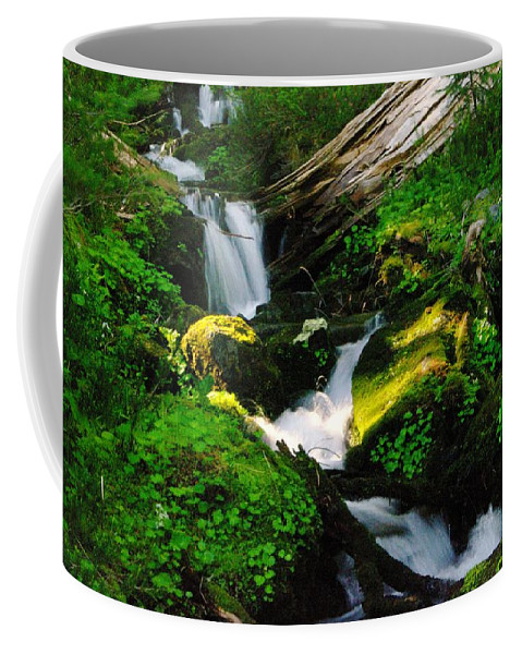Rivers Coffee Mug featuring the photograph A Small Slice Of Paradise by Jeff Swan