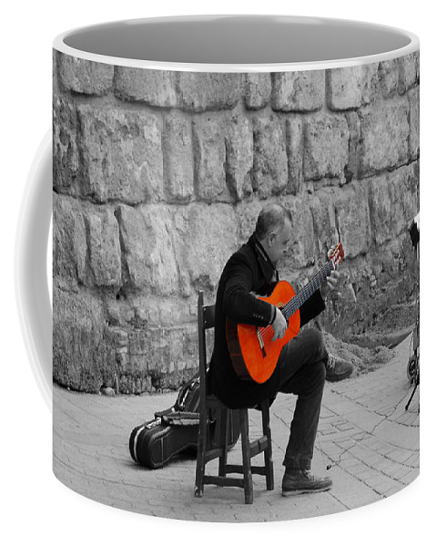 Musical Coffee Mug featuring the photograph A Splash Of Flamenco by Andrea Mazzocchetti