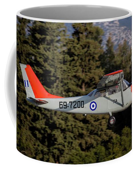 Greece Coffee Mug featuring the photograph A T-41d Trainer Aircraft by Timm Ziegenthaler