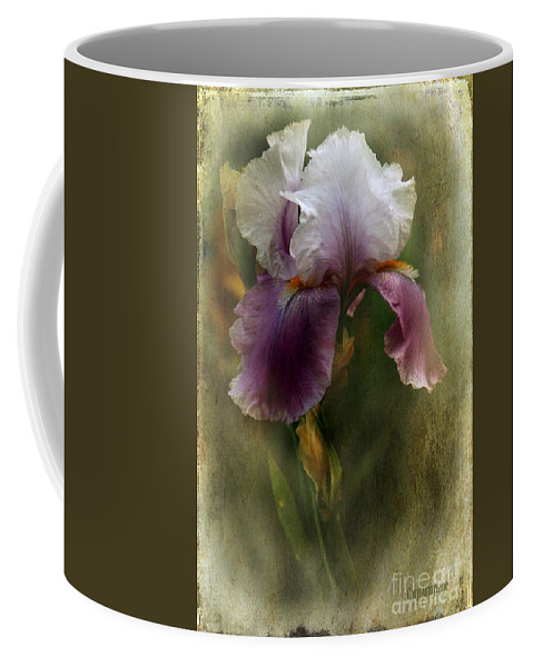 Iris Coffee Mug featuring the photograph A Thing Of Beauty ... by Chris Armytage