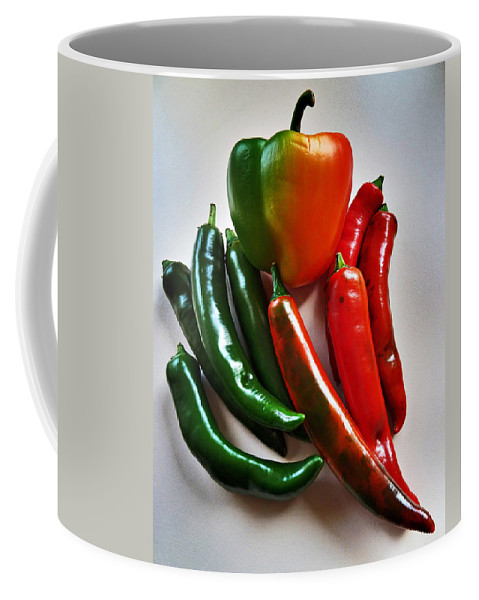 Sweet Coffee Mug featuring the photograph A Touch Of Colour by Steve Taylor