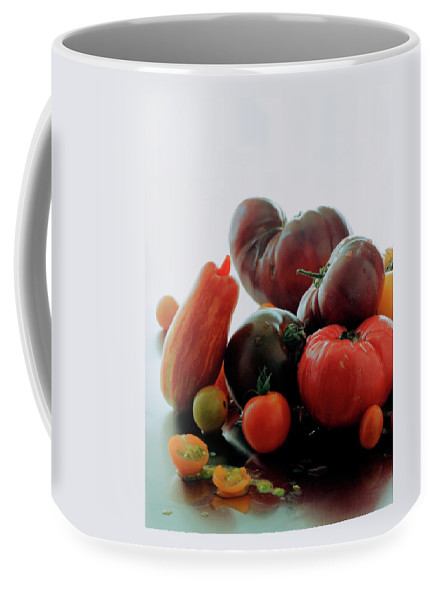 Vegetables Coffee Mug featuring the photograph A Variety Of Vegetables by Romulo Yanes