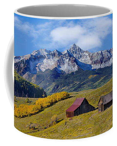Colorado Coffee Mug featuring the photograph A View From Last Dollar Road by Jerry Fornarotto