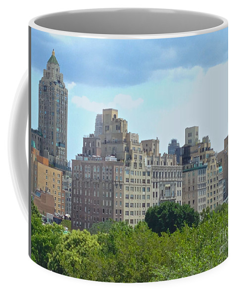Met Coffee Mug featuring the photograph A View From The Met by Christy Gendalia