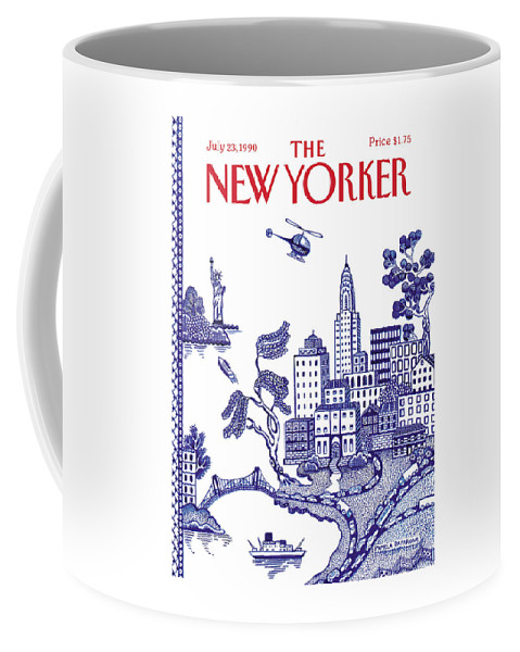 New Yorker July 23, 1990 Coffee Mug