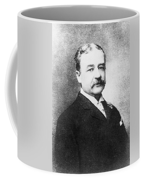 19th Century Coffee Mug featuring the photograph Aaron Montgomery Ward (1843-1913) by Granger