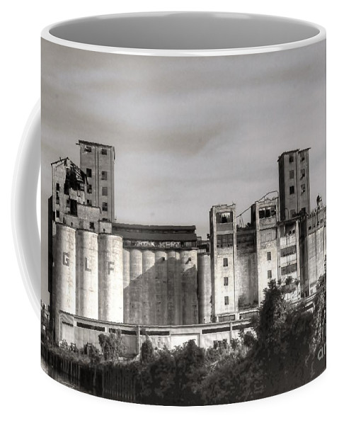 Abandoned Coffee Mug featuring the photograph Abandoned Mills by Kathleen Struckle