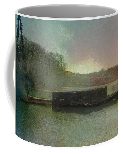 Wright Coffee Mug featuring the photograph Abandoned by Paulette B Wright