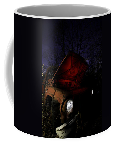 Abandoned Coffee Mug featuring the photograph Abandoned Truck by Cale Best